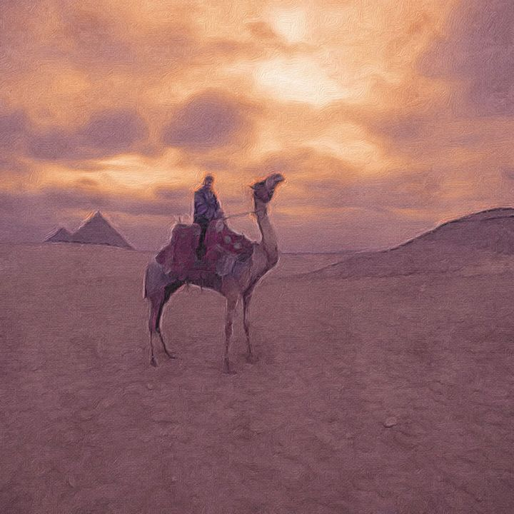 Camel and the Great Pyramids - Empire State Studios NYC