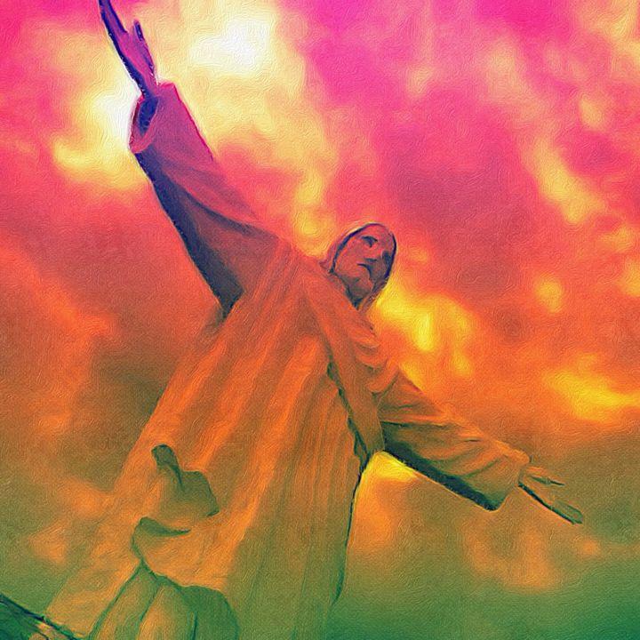 Jesus Statue: Cusco, Peru - Empire State Studios NYC