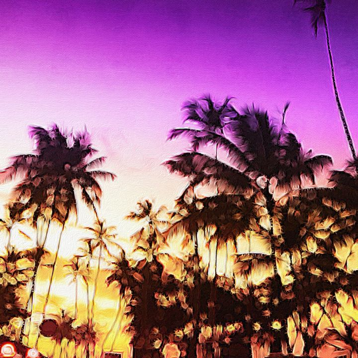 Palm Trees in The Dominican Republic - Empire State Studios NYC