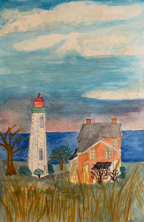 The Light Keeper's House - Andy's Art