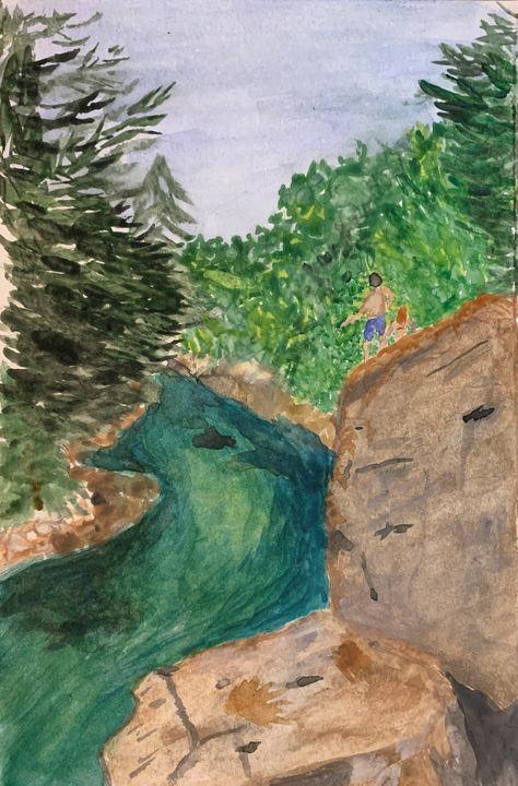 Blue Hole - Andy's Art
