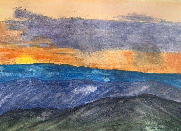 Shenandoah Sunset - Andy's Art