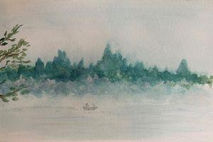 Misty Morn on Elkhorn