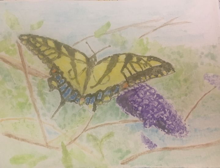 Eastern Tiger Swallowtail in Summer - Andy's Art