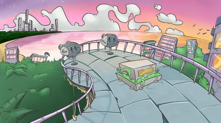 Nontoonyt Island - Nick's Doodles