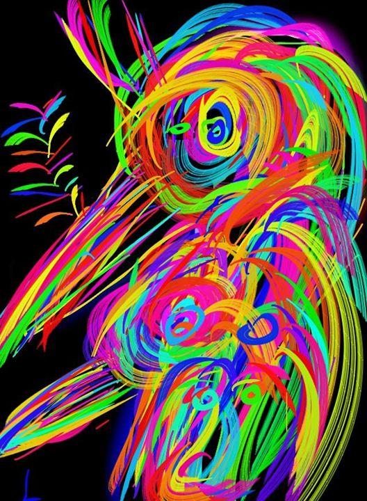 birds of prey - Moshe Dazin