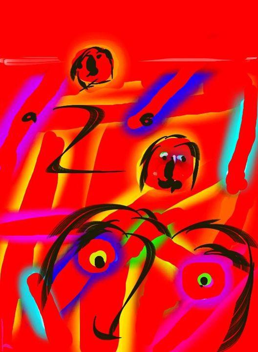 red road - Moshe Dazin
