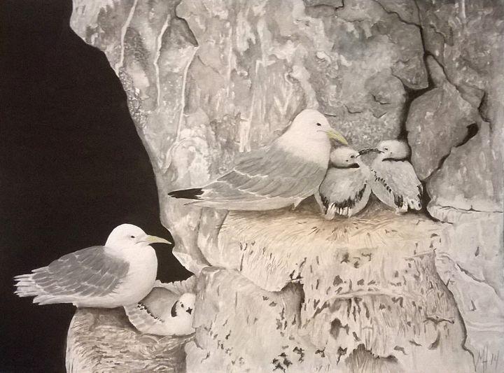 Seagulls - Dulce Hermida