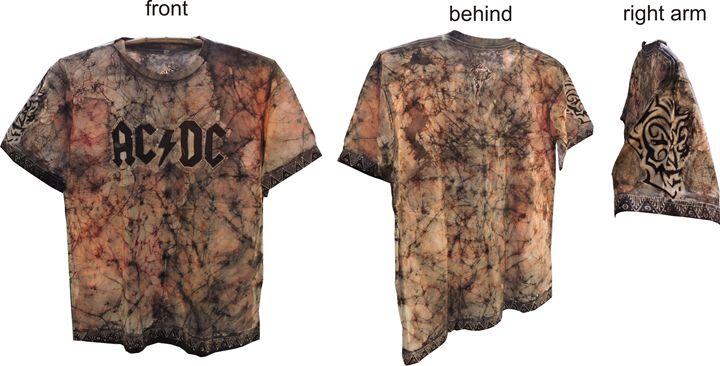 AC/DC Batik Tattoo - batik tattoo