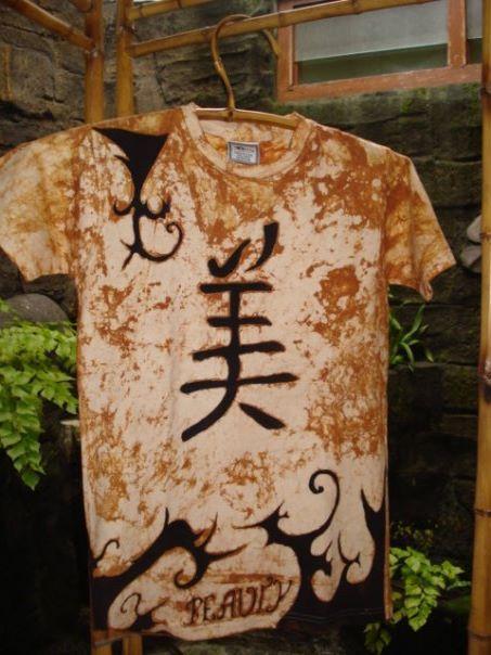 Kanji (Beauty) batik tattoo - batik tattoo