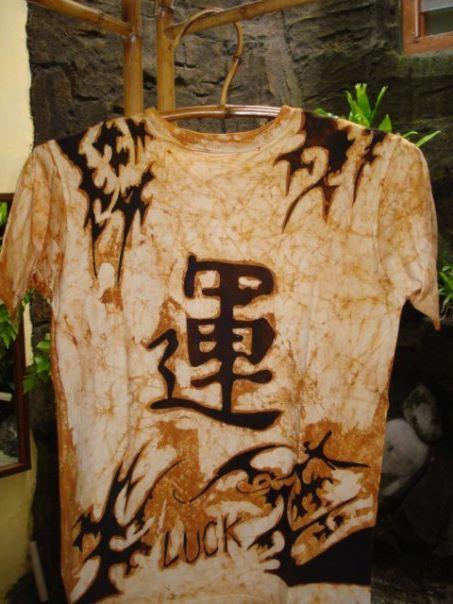Kanji (Luck) Batik tattoo - batik tattoo