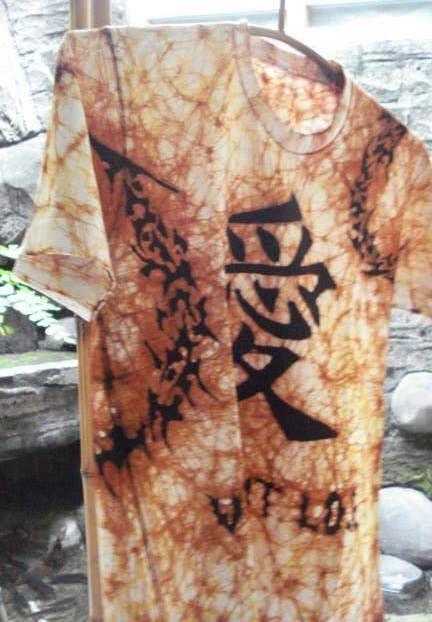Kanji (loce) batik tattoo - batik tattoo