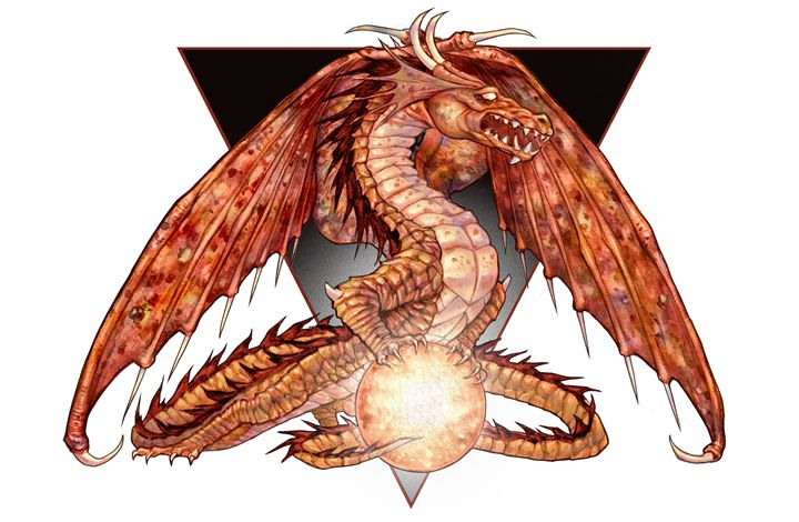 Orange Dragon - Patrick Meadows