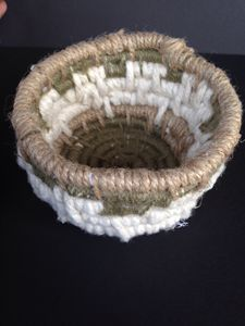 Coiled Yarn Basket - Young Sprout