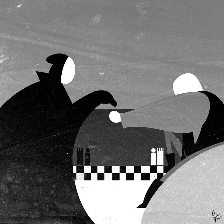 Bergman's The Seventh Seal - Dudu Ramírez