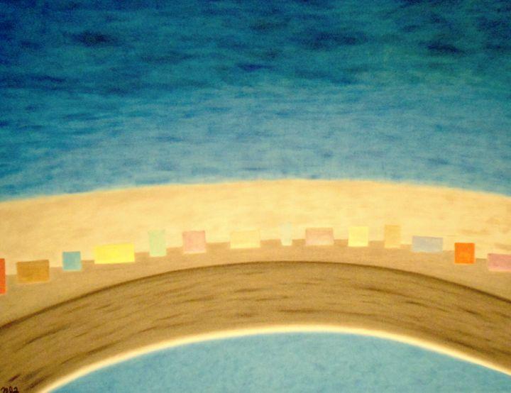 Coastal Shoreline - Creative Art Designs by Nicholas Favaza