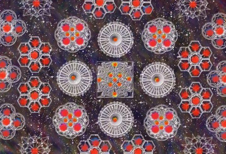Spinning Wheels - Creative Art Designs by Nicholas Favaza