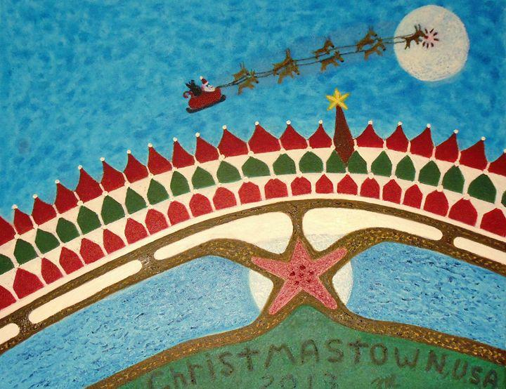 Christmas Town, U.S.A., 2013 - Creative Art Designs by Nicholas Favaza
