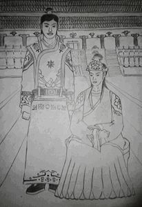 Royal Couple emperorr and empress