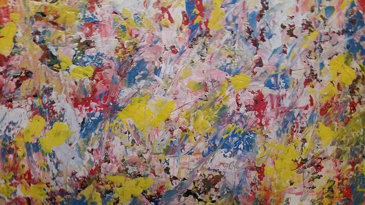 Yellow Clouds - Creations Art Originals
