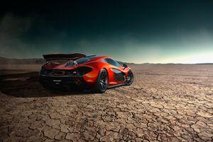 McLaren P1 | Black Rock