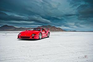 Ferrari F40 | Salt Flats 5
