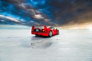 Ferrari F40 | Salt Flats 4