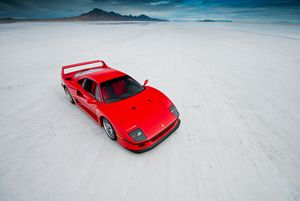 Ferrari F40 | Salt Flats 2