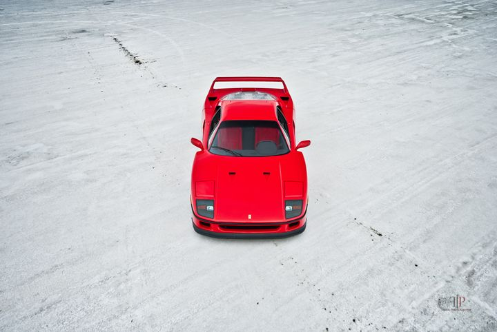 Ferrari F40 | Salt Flats 7 - Folk|Photography
