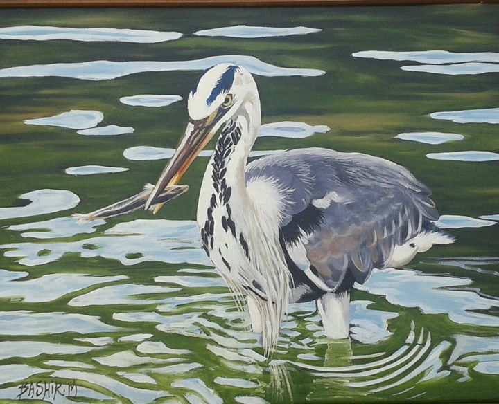 The heron - Bashir Midoun