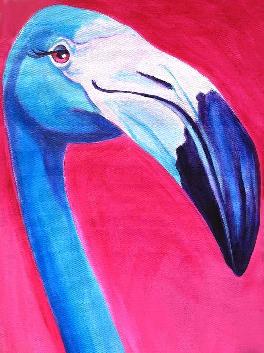 Flamingo - DawgArt