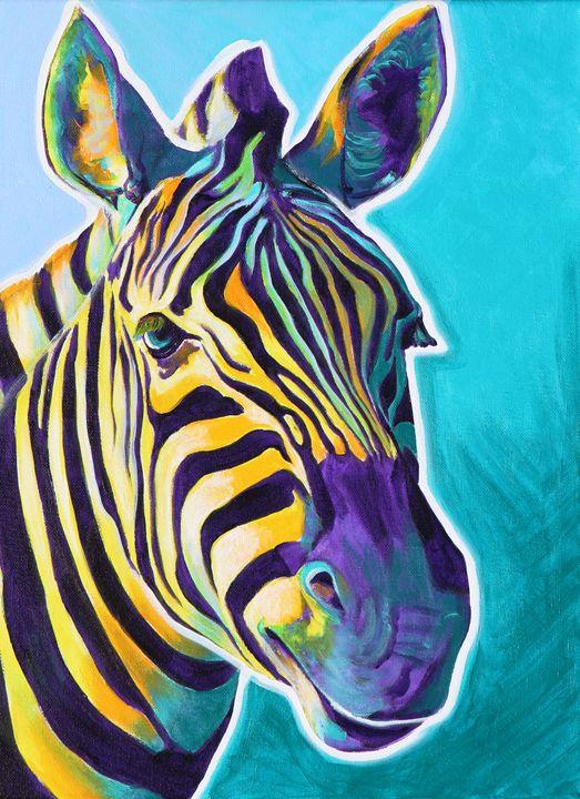 Zebra 2 - DawgArt