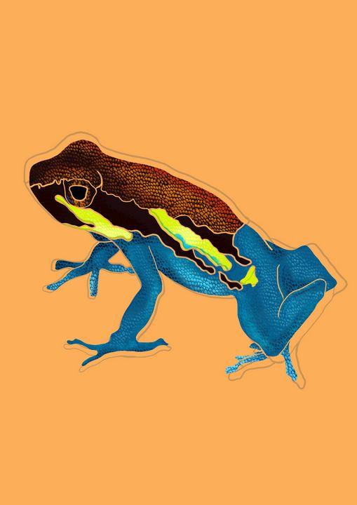 Frog - MadeelePrints