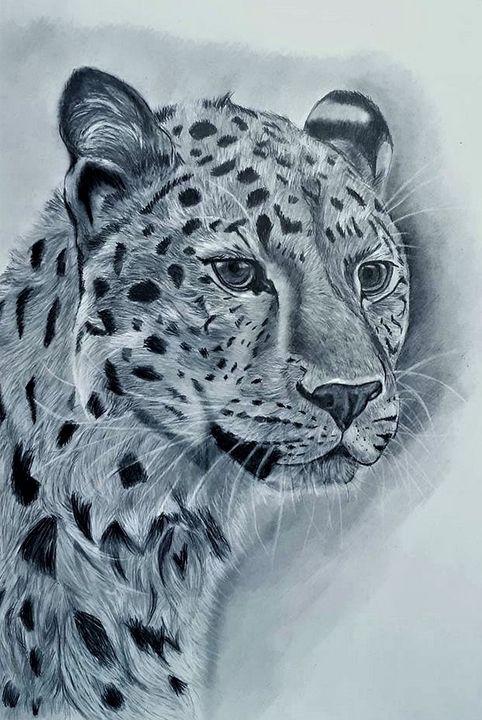Leopard - Pet Portraits for Charity