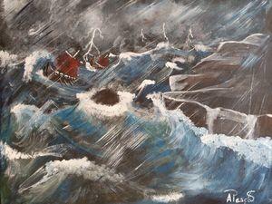 Vikings on a high tide