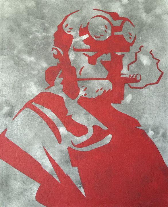 Hellboy - Dark_Knight_Gallery