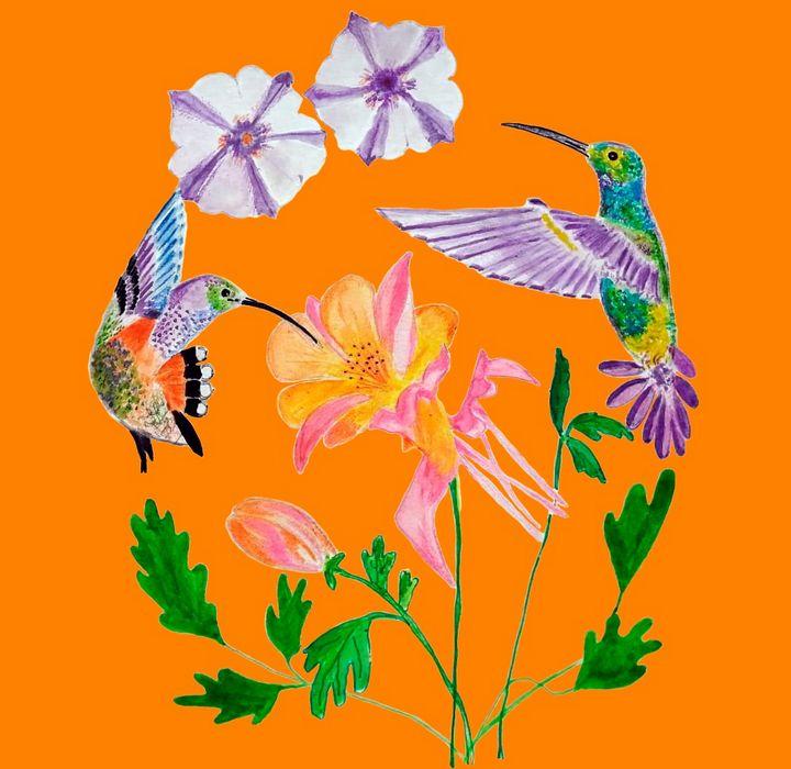 dva kolibříci - ChicaLatina