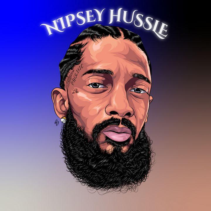Nipsey Hussle (Vector Art) - AdamVisuals