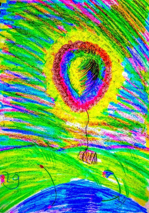 A comic balloon cartoon - Lostgurl