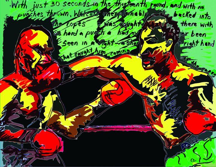Rock KO13 Walcott - Clinton Michael