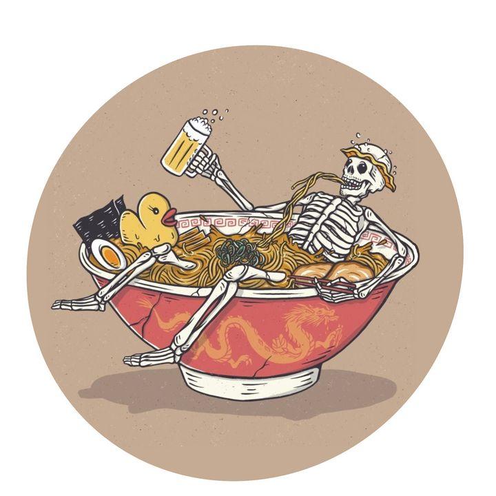 skeleton chilling - ARThur
