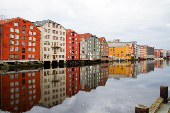 Norway, trondheim - linn memran