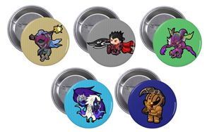 League of Legends badge bundle #1 - Chibi Creations
