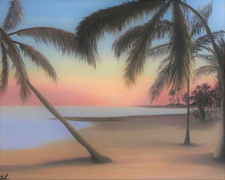 Afternoon Palms - Sarah's Art