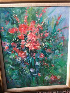 """Bouquet"" original by Thomas Trausch"