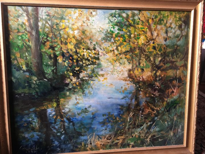 """Stream"" Original by Thomas Trausch - Material Possessions"