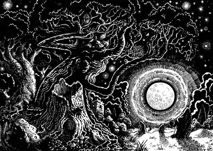 Solstice Moon - Artserge