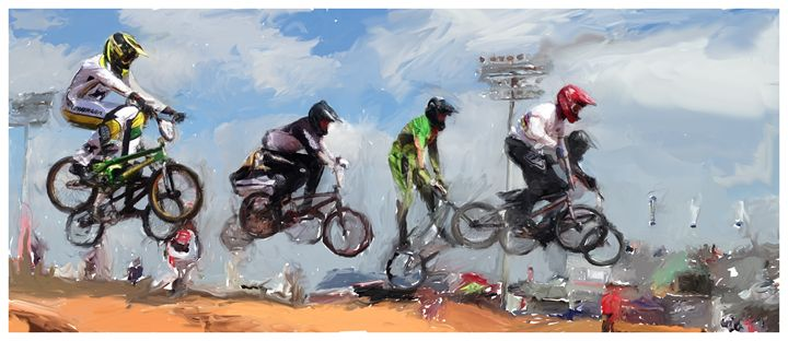 BMX Air - Josh King Creative