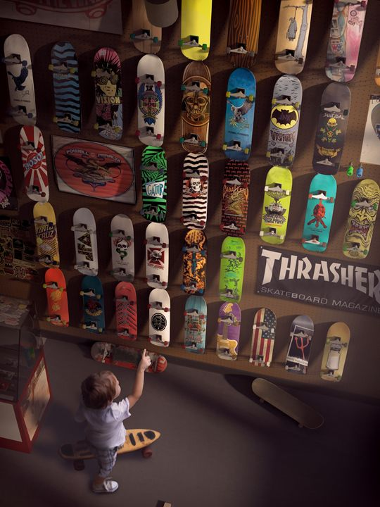 Skate Shop - Josh King Creative