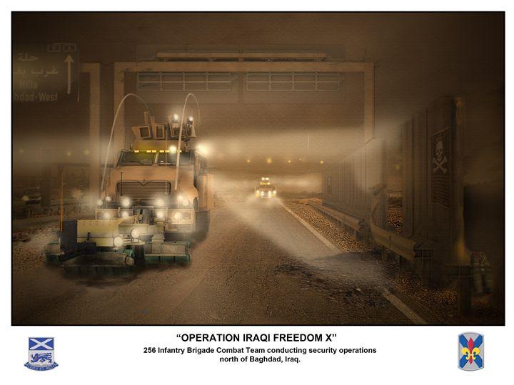 Operation Iraqi Freedom - Josh King Creative